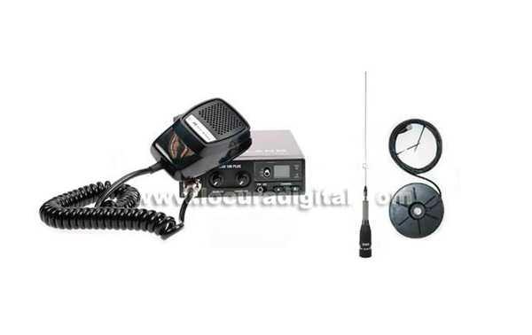 ALAN 100 KIT A + Antena MIRMIDON BRAVO-150 + BASE Magnetica BM 150 PL