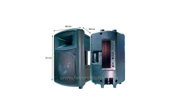 BARRISTER BAMP-15  Altavoz con amplificador integrado 300 W.