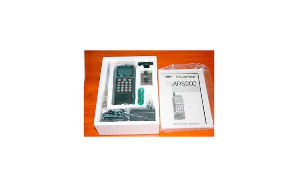 AOR AR8200-MK3 PORTABLE SCANNER 500 kHz-3000MHz