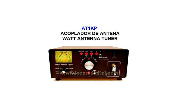 Acoplador de Antena Palstar AT-1KP con medidor. Potencia maxima  1200 Watios
