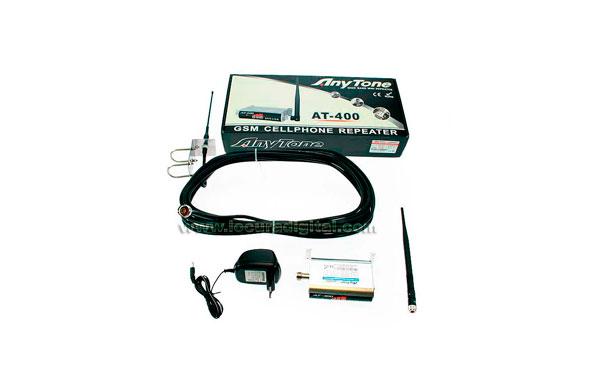 AT400GSM Repetidor telefonica móvil para VODAFONE y MOVISTAR 890-960 Mhz.