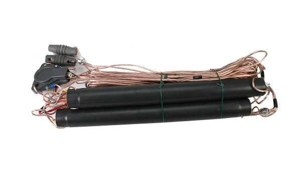 LEMM AT50 Antena Dipolo bandas 40 - 80 - 160 metros (7 Mhz. - 3,5 Mhz. - 1,8 Mhz.)