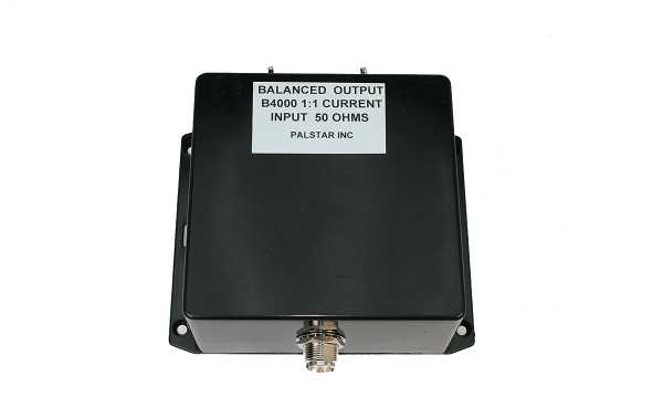 B4000N11 PALSTAR Balun 1: 1 maximum power 4Kw
