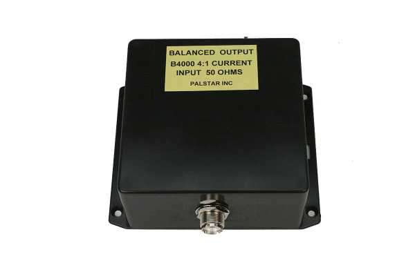 B4000N14 PALSTAR Balun 4: 1 puissance maximale 4Kw