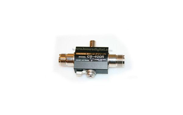 CS400R COMET protector coaxial PL hembra/hembra