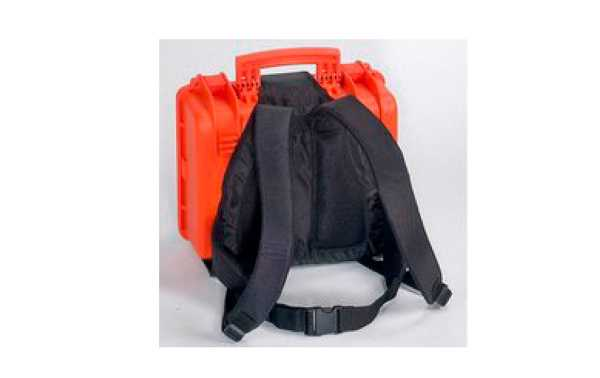 BACKPACK-M  Explorer Mochila negra ajustable a maleta 3317, 3818, 5117