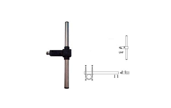 BANTEN14052 BANTEN Dipolo UHF 385 -470 Mhz ganancia 4 dBi. Fabricado en ACERO INOXIDABLE