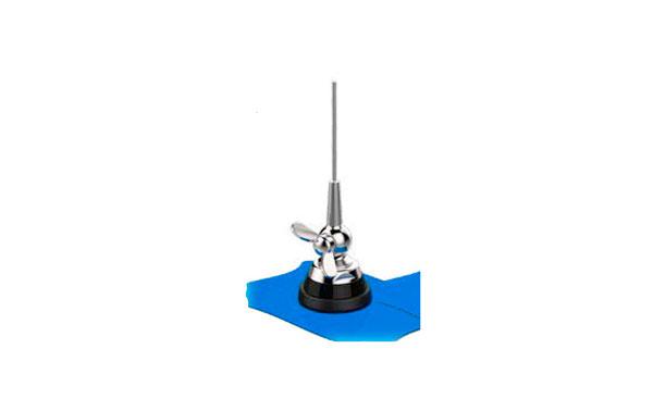 BANTEN18030 BANTEN Antena móvil 1/4 UHF 385 - 470 Mhz.Tipo palomilla, Varilla Acero  cable 5 mts RG58. Longitud antena. 20 cms.