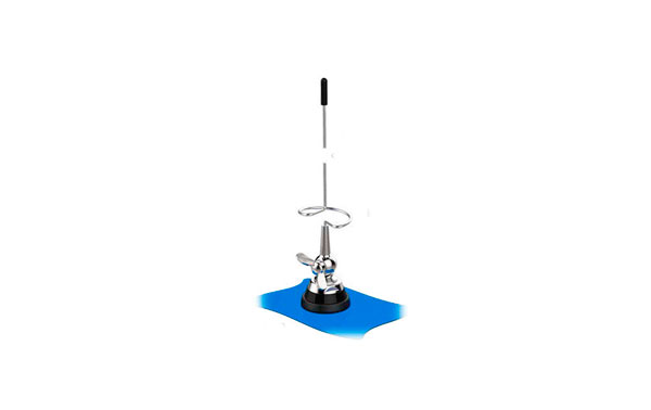 BANTEN BANTEN18060 5/8 Mobile Antenna UHF 385-470 Mhz.Tipo wing nut, spring rod Steel cable 5 meters RG58. Length 45 cms.