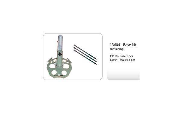 13604 Base kit especial para sujetar mastil de carbono MODULAR MAST ULTRALIGHT
