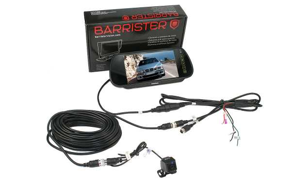 BARRISTER BRV-15-KIT180 Retrovision Monitor System-7 inches