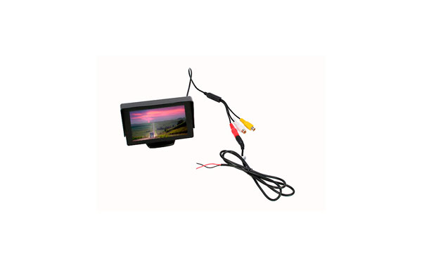 BARRISTER BRV543 Monitor 4.3 inches. 2 channels, RCA