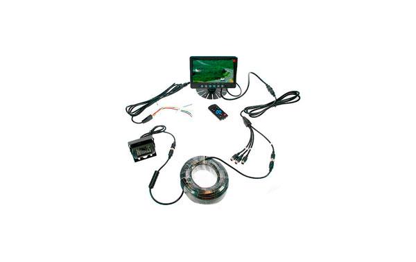 BRV9 BARRISTER sistema de visión trasera para hasta 4 cámaras