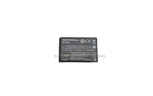 BT60 Bateria de Litio capacidad 1130 mAh, voltage 3,7 w.