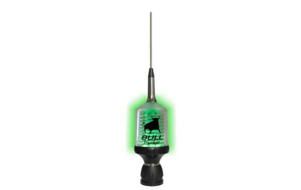 SIRIO BULL TRUCKER 3000 RI. Antena cb 27 Mhz de alto desempenho Led