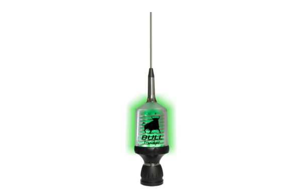 SIRIO BULL TRUCKER 3000 PL.Antena CB 27 Mhz high performance Led. PL connector
