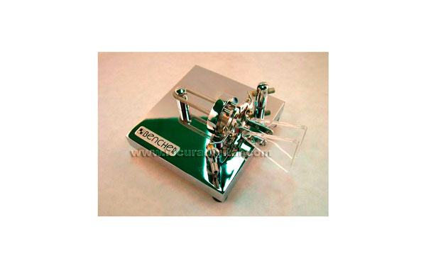 BENCHER-BY2  llave tipo paleta para  telegráfica  morse CW