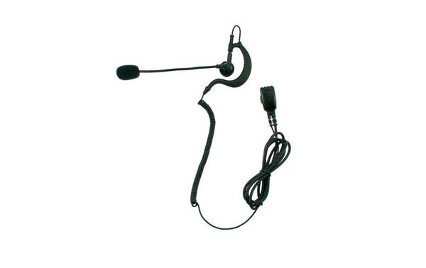 PIN49Y2  NAUZER Micro-Auricular Orejera tipo pertiga, PTT