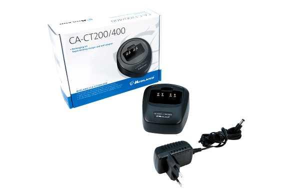 Midland  CA-CT200 Cargador + cazuela para portatil CT200/ CT400
