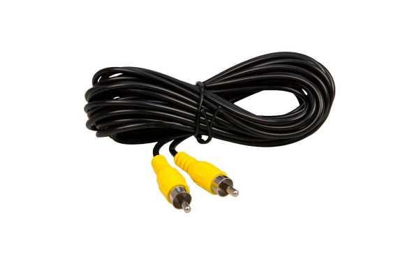 CA15RCA BARRISTER cable conexión 15 metros, RCA macho-RCA macho, para sistemas de visión marcha atras.