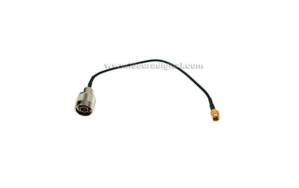 CAWIF0719 MIRMIDON cable RG174. 20 cms.N MACHO - SMA MACHO estandar