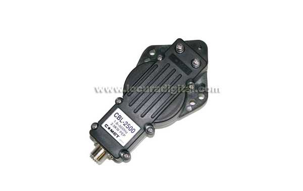 Incluye  COMET CBL-2500  balun Impedancia 50 ohm Relación: 1:1 Conector PL Hembra Frequencia: 1.8 ? 56 MHz
