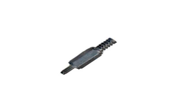 COD1032 Conector Jack Alimentación. Long.9 mm.x ext. 6,3 mm. x 3,1 mm. interior