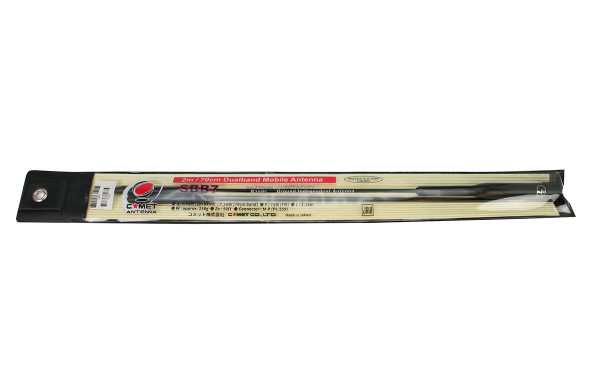 COMET SBB-7 Antena móvil VHF 144/ UHF 430 Mhz Longitud 1,38 mts