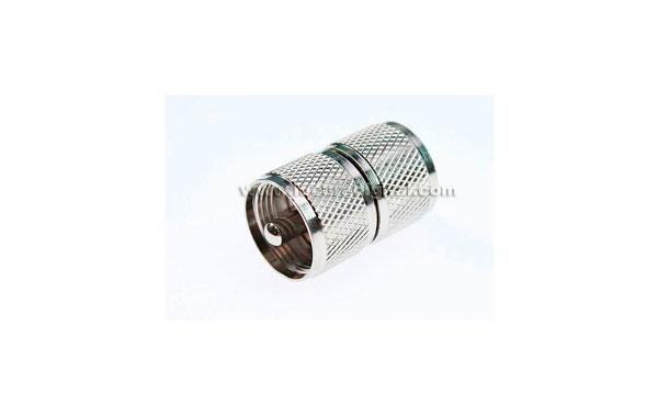 CON1318 Conector adaptador PL MACHO - PL MACHO