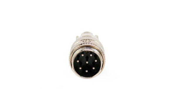 CON1563 Conector macho aereo de micro. 8 pins.