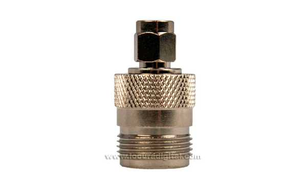 CON1796 Adapter SMA Male to N Female connector
