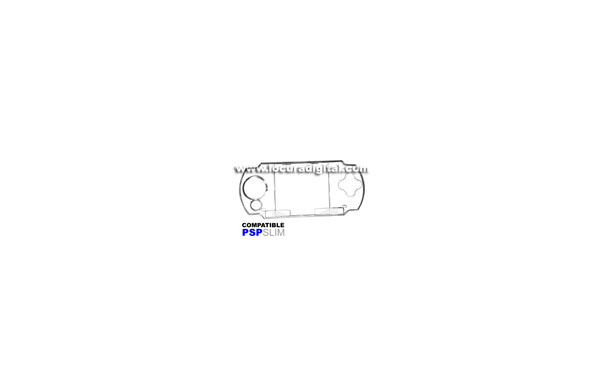 carcasa protectora PSP