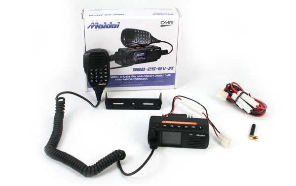 MALDOL DBD25 DMR Emisora bibanda Analogica y Digital VHF144 /UHF430 Mhz