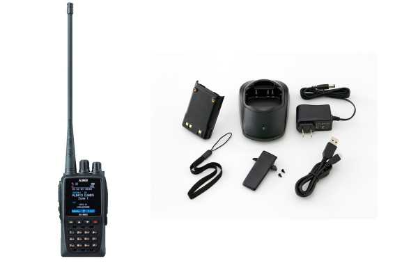 Alugue DMMD-5E walkie bibanda DMR VHF / UHF com GPS