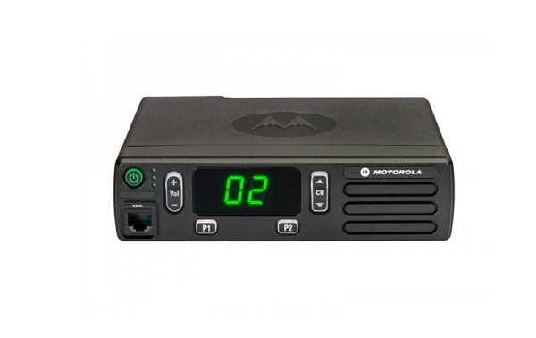 DM1400VHFA MOTOROLA Emisora Analogica actualizable a digital VHF 136-174 Mhz.16 Canales.