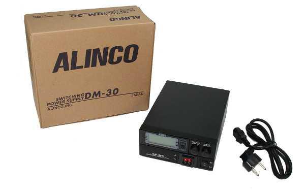 ALINCO DM30G  Fuente alimentacion conmutada 25A. Regulable 9 a 15 voltios, con pantalla LCD, lectura de amperaje y voltage.