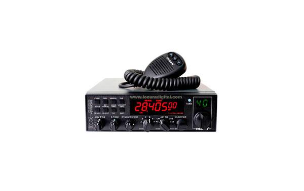 MAAS DX-5000 HF  28-30 MHz  POTENCIA 12 WATIOS AM/ FM. Y BANDAS LATERALES 21 WATIOS