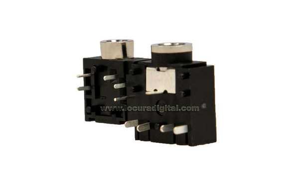 MIC + EAR JACK E11070305 KENWOOD originale de rechange KENWOOD TK3401