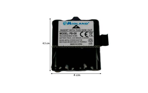 Alan pBG8 bateria para G8, M99