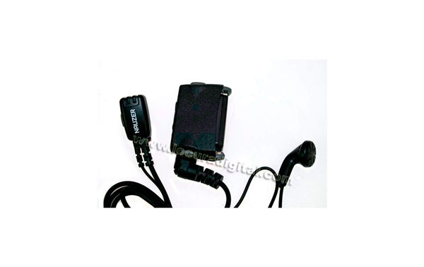PIN-25 N1P NOKIA. Micro Auricular y PTT para walkies TETRA NOKIA 880