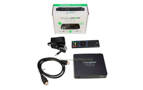 EN1020 ENGEL Receptor IPTV Smart TV TDT2 ENGELDROID