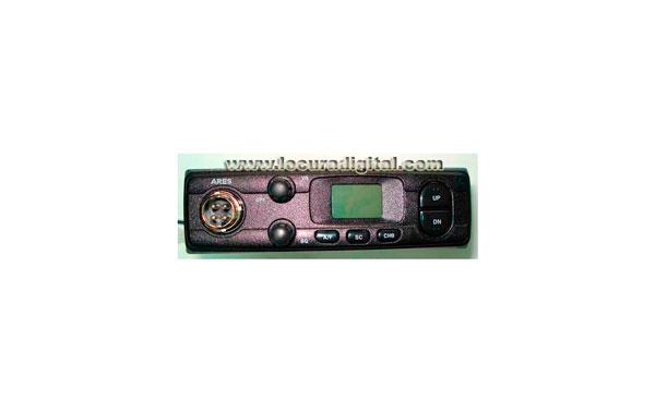 ARESBLACK KIT 4x4 CB 27 Mhz Station LAFAYETTE ARES BLACK AM / FM 4 W