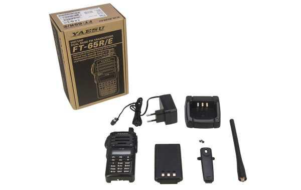YAESU FT65E  WALKIE TALKIE VHF 430- 440 Mhz potencia 5 W