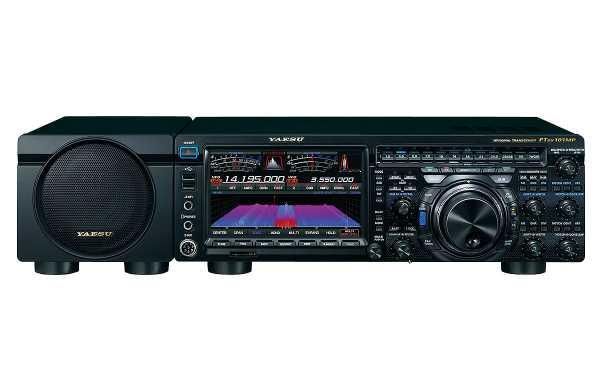 Yaesu FTDX 101MP Equipamento HF 160 e 6 metros com SDR de 200 watts