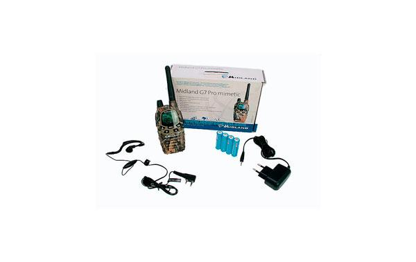 El MIDLAND G7E-PRO MIMETIC es extremadamente práctico y opera de pmr446.