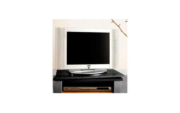 GV1NEGRO Soporte pantalla TV + VIDEO giratorio 60 cms x 38 cms. Color NEGRO