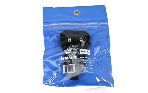 HANKING HKBU55 Balun 1: 1 Frequency 3-75 Mhz max power 500W PEP