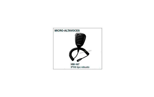 HM167 Micro speaker rugged handheld IPX8