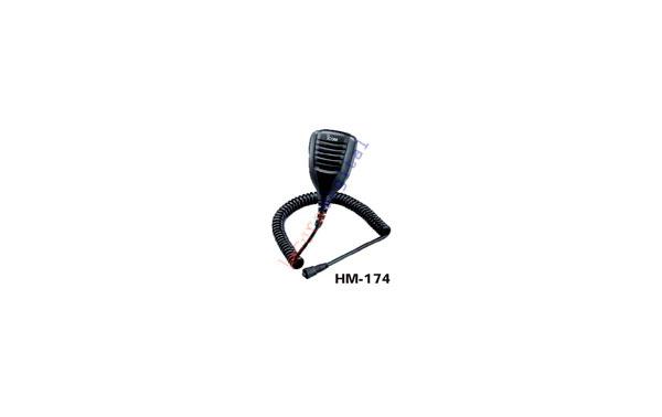 HM 174 Microaltavoz de solapa IPX7 PARA ICOM ICE92D