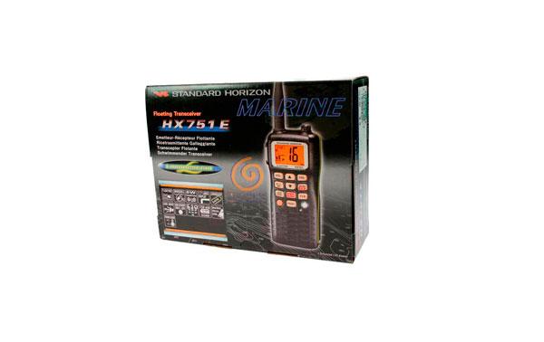 STANDARD HORIZON HX751E